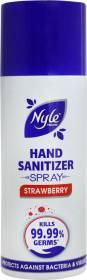Nyle Strawberry Hand Sanitizer Bottle