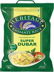 Heritage Super Dubar Basmati Rice (Medium Grain)