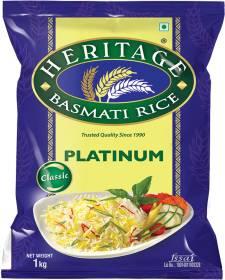 Heritage Platinum Basmati Rice (Long Grain)