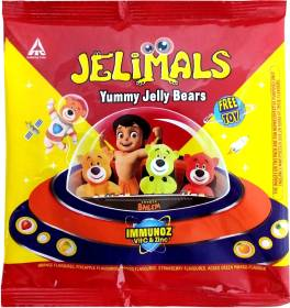 Jelimals Bears Assorted Jelly Candy