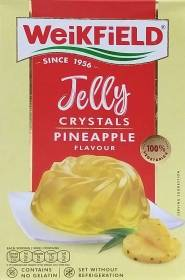 Weikfield Jelly Crystals Pineapple 90 g