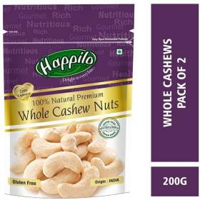 Happilo 100% Natural Premium Whole Cashews