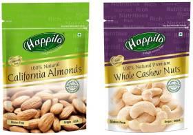 Happilo 100% Natural Cashews, Almonds