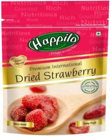 Happilo Premium International Exotic Dried Strawberries