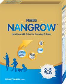 Nestle Nangrow Nutritious Milk Drink for Growing Children Creamy Vanilla