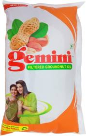 Gemini Filtered Groundnut Oil Pouch