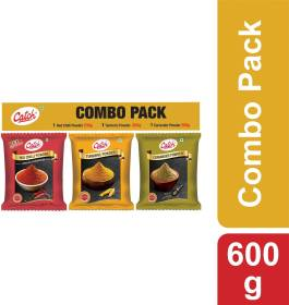 Catch Red Chilli, Turmeric, Coriander Powder Spices Combo
