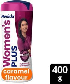 Horlicks Women's Plus Calseal Formula - Caramel Flavour
