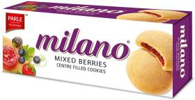 PARLE Milano Mixed Berries Cookies Cookies