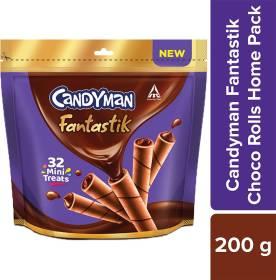 Candyman Fantastik Mini Treats Wafer Rolls