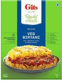 Gits Ready Meals - Veg Biryani 265 g