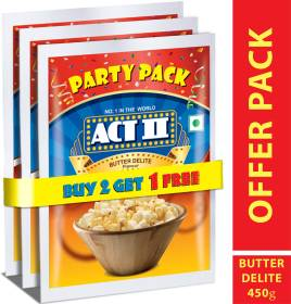 ACT II Party Pack Butter Delite Popcorn