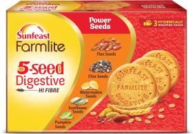 Sunfeast Farmlite 5 Seed Digestive Cookies