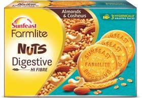 Sunfeast Farmlite Nuts Digestive Cookies