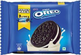 OREO Original Chocolatey Biscuits Cream Sandwich