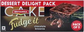 BRITANNIA Chocolate Brownie Chocolate Cake