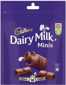 Cadbury Dairy Milk Home Treats Chocolate Bars