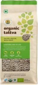 Organic Tattva Organic White Urad Dal (Whole)