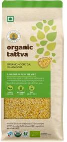 Organic Tattva Yellow Moong Dal (Split)