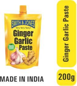 SMITH & JONES Ginger Garlic Paste