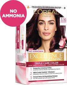 L'Oréal Paris Excellence Creme Hair Color , Burgundy 3.16
