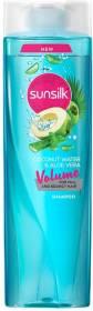 SUNSILK Coconut Water and Aloe Vera Volume Hair Shampoo