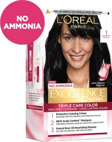 L'Oréal Paris Excellence Creme Hair Color , Black 1