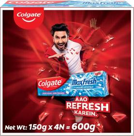 Colgate Maxfresh Blue Gel Peppermint Ice Toothpaste
