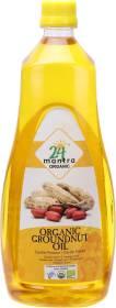 24 mantra ORGANIC Groundnut Oil Plastic Bottle