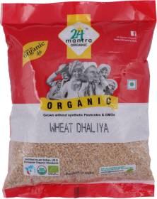 24 mantra ORGANIC Wheat Dhaliya Broken Wheat