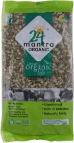 24 mantra ORGANIC Organic Green Moong Dal (Split/Chilka)