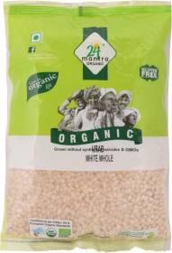 24 mantra ORGANIC Organic White Urad Dal (Whole)