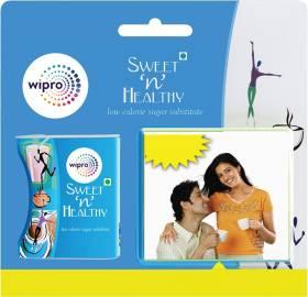 WIPRO Sweet n Healthy Sugar Substitute Aspartame Tablets Sweetener