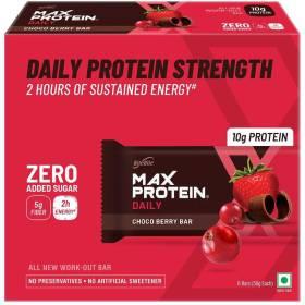 RiteBite Max Protein Daily Choco Berry Bars 300g