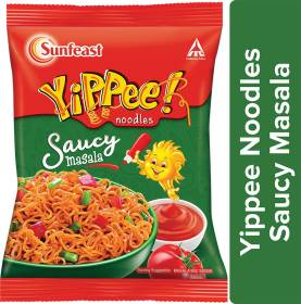 Sunfeast YiPPee! Noodles Saucy Masala Instant Noodles Vegetarian