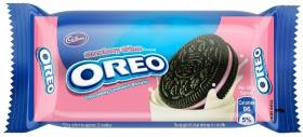OREO Strawberry Biscuits Cream Filled