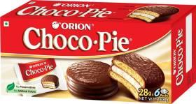 ORION Choco Pie Chocolate Coated Soft Cookies