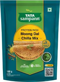 Tata Sampann Moong Dal Chilla Mix 180 g