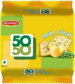 BRITANNIA 50-50 Maska Chaska Salted Biscuit