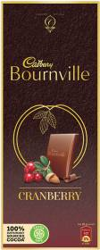 Cadbury Bournville Cranberry Dark Chocolate Bars