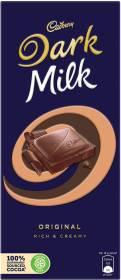 Cadbury Dark Milk Original Rich and Creamy Bars