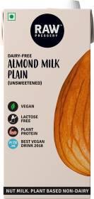 Raw Pressery Almond milk Plain, Unsweetened