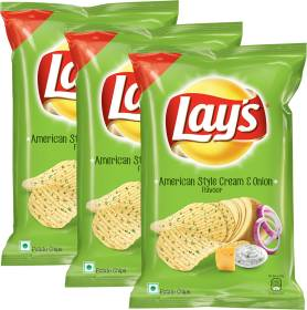 Lay's American Style Cream Onion Chips