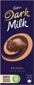 Cadbury Dark Milk Chocolate Bars