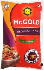 Mr.Gold Groundnut Oil Pouch
