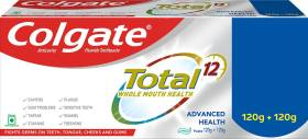 Colgate Total Whole Mouth Health, Antibacterial , Advanced Health, Saver Pack Toothpaste