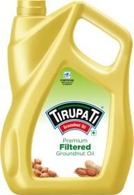 TIRUPATI Premium Groundnut Oil Plastic Bottle