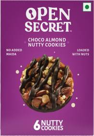 OPEN SECRET Choco Almond Nutty Cookies