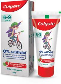 Colgate Natural Strawberry Mint Flavor for Kids Toothpaste