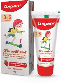Colgate Natural Strawberry Flavor for Kids Toothpaste